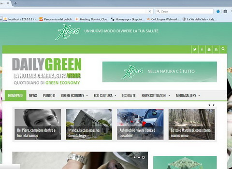 screenshot sito dailygreen