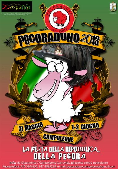 Manifesto Edizione 2013 - La festa della Reoubblica ... Della Pecora